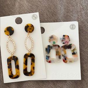 🍃 3/$30 // Forever 21 earrings